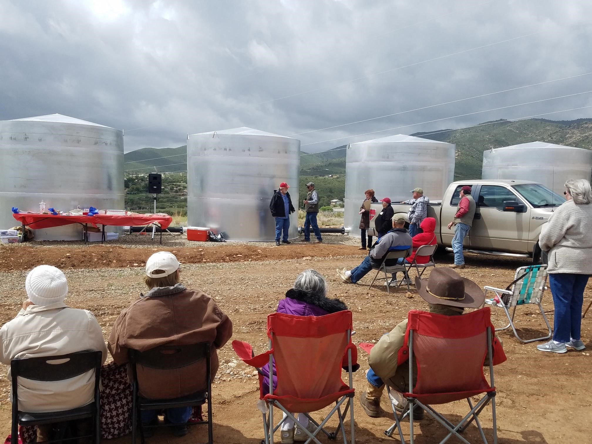 Blue Hills Water Tanks